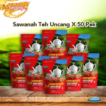 Agen Sawanah Teh Uncang - 50 BAG (25 Uncang x per bag)