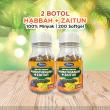 Pembeli Softgel  Habbah+Zaitun (2 Botol) - Sawanah HQ