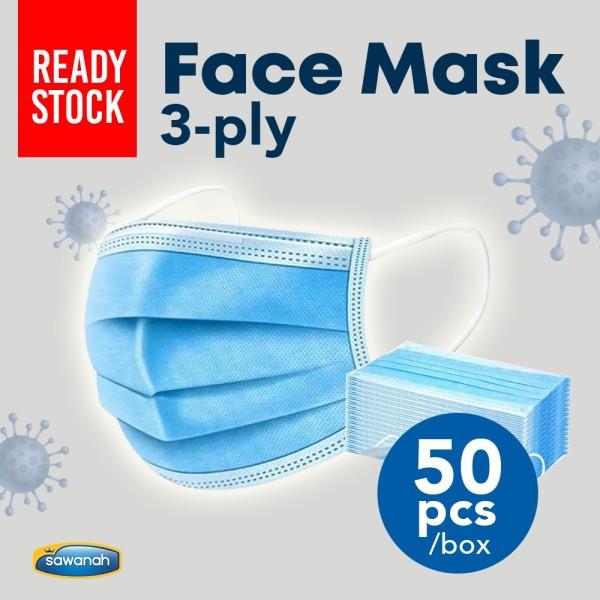 FACE MASK 3 PLY - Sawanah HQ