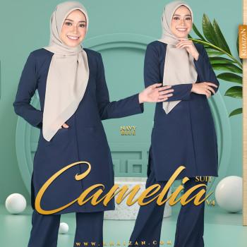 CAMELIA SUIT V4 - NAVY BLUE