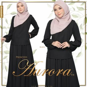 PRINCESS AURORA V4 - DARK GREY - KHAIZAN