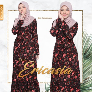 THE ERICASIA - RED CHARCOAL