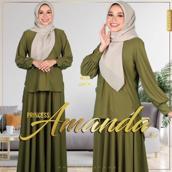 PRINCESS AMANDA V2 - MOSS GREEN
