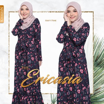 THE ERICASIA - NAVY PINK