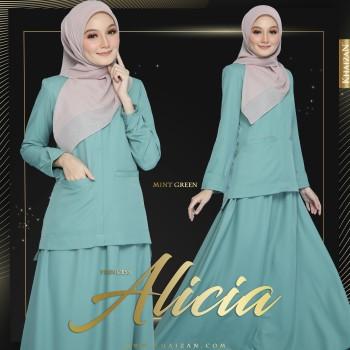 PRINCESS ALICIA - MINT GREEN
