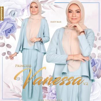 MISS VANESSA V2 - DUSTY BLUE