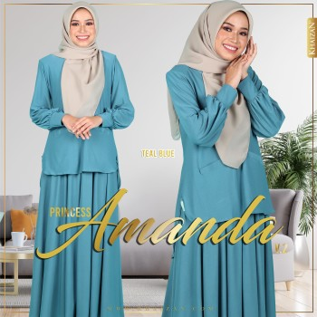 PRINCESS AMANDA V2 - TEAL BLUE