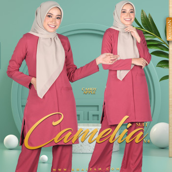 CAMELIA SUIT V4 - CANDY APPLE