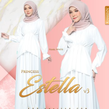 PRINCESS ESTELLA V3 - PEARL WHITE