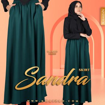 SANDRA SKIRT - EMERALD GREEN