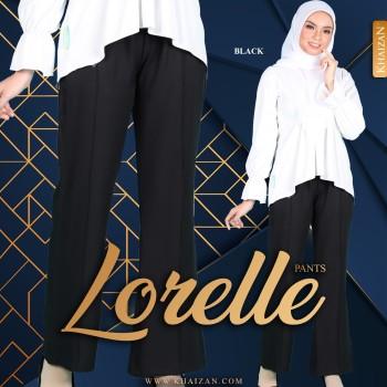 LORELLE PANTS - NAVY BLUE - KHAIZAN