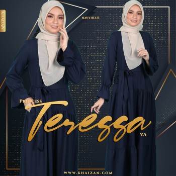 PRINCESS TERESSA V5 - NAVY BLUE