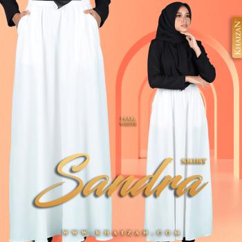 SANDRA SKIRT - PEARL WHITE