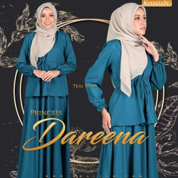 PRINCESS DAREENA - TEAL BLUE