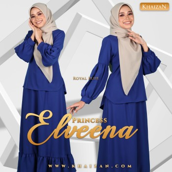 PRINCESS ELVEENA - ROYAL BLUE