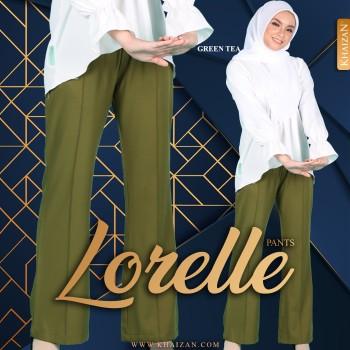 LORELLE PANTS - GREEN TEA