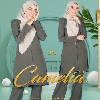 CAMELIA SUIT V4 - MOSS GREEN
