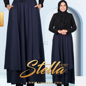 STELLA SKIRT - NAVY BLUE