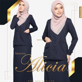 PRINCESS ALICIA V2 - NAVY BLUE