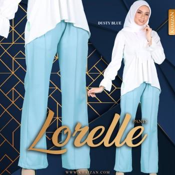 LORELLE PANTS - DUSTY BLUE