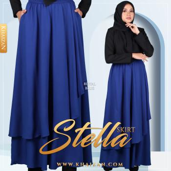 STELLA SKIRT - ROYAL BLUE