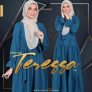 PRINCESS TERESSA V5 - TEAL BLUE
