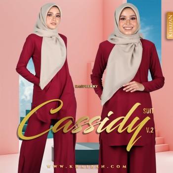 CASSIDY SUIT V2 - RASPBERRY