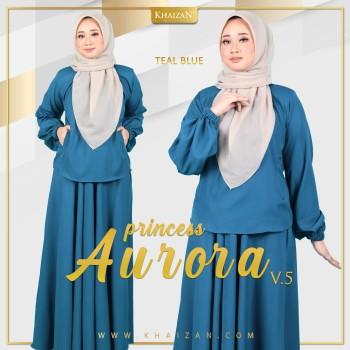 PRINCESS AURORA V5 - TEAL BLUE