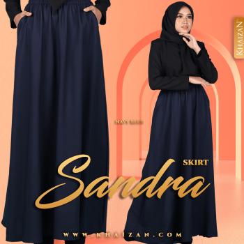 SANDRA SKIRT - NAVY BLUE