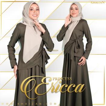 PRINCESS ERICCA - MOSS GREEN