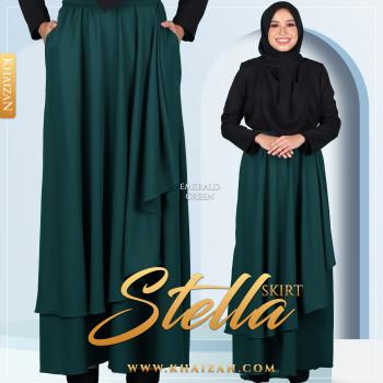 STELLA SKIRT - EMERALD GREEN