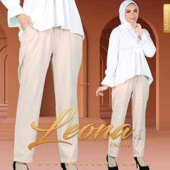 LEONA PANTS V2 - BEIGE