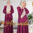 PRINCESS AMANDA V2 - MAGENTA - KHAIZAN