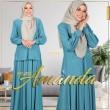 PRINCESS AMANDA V2 - TEAL BLUE - KHAIZAN