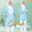 BLOUSE CLARA - DUSTY BLUE - KHAIZAN