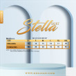 STELLA SKIRT - DUSTY ORANGE - KHAIZAN