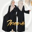 ABAYA IRENE - BLACK - KHAIZAN
