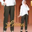LEONA PANTS V2 - MOSS GREEN - KHAIZAN