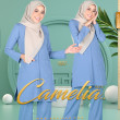 CAMELIA SUIT V4 - DUSTY NAVY - KHAIZAN