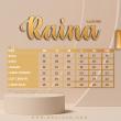 BLOUSE RAINA - PEACH SALMON - KHAIZAN