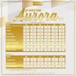 PRINCESS AURORA V5 - BURGANDY - KHAIZAN