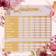 PRINCESS QALSOM V5 - MUSTARD - KHAIZAN