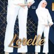 LORELLE PANTS - PEARL WHITE - KHAIZAN