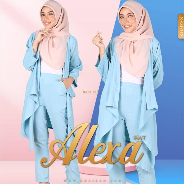 ALEXA SUIT - BABY BLUE - KHAIZAN