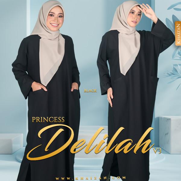 PRINCESS DELILAH V3 - BLACK - KHAIZAN