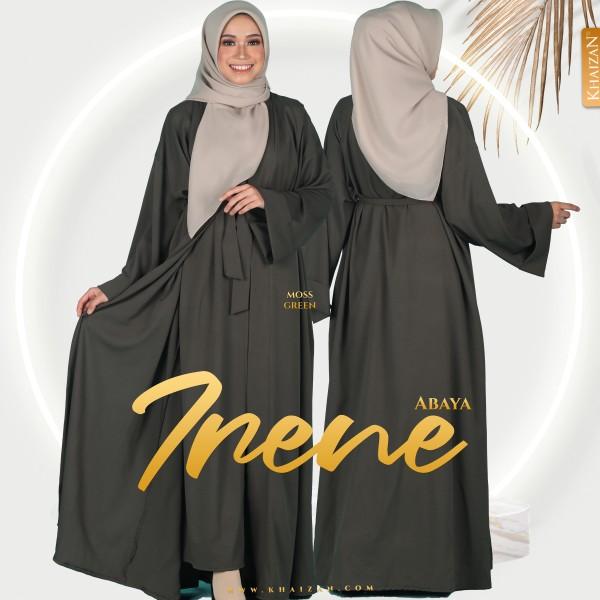 ABAYA IRENE - MOSS GREEN - KHAIZAN
