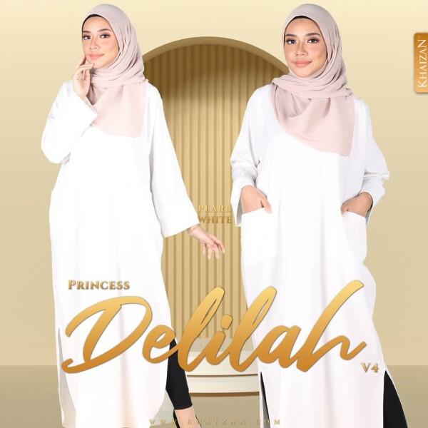 PRINCESS DELILAH V4 - PEARL WHITE - KHAIZAN