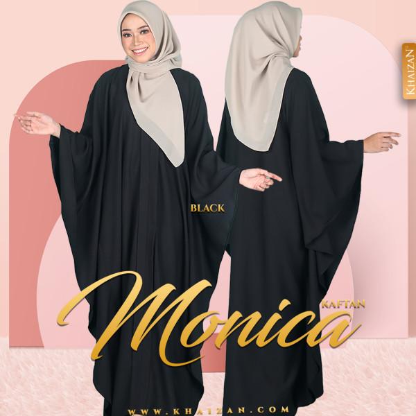 MONICA KAFTAN - BLACK - KHAIZAN