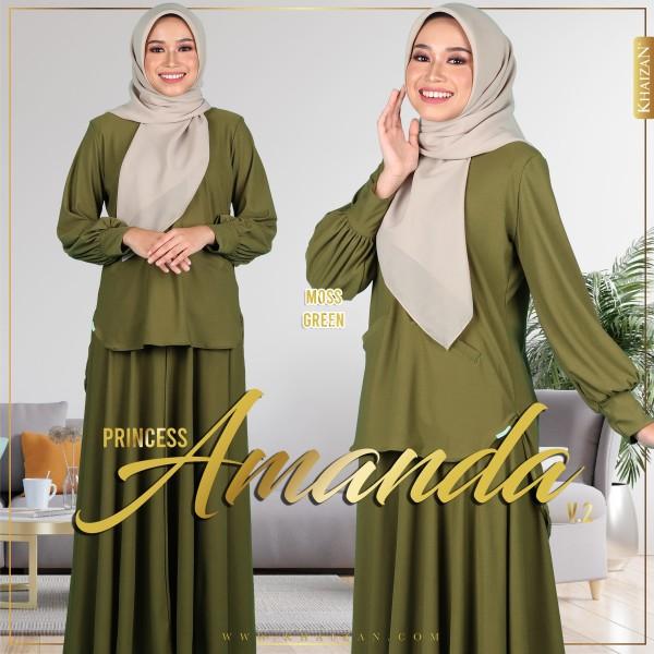 PRINCESS AMANDA V2 - MOSS GREEN - KHAIZAN