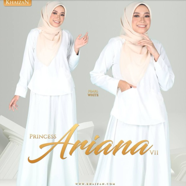 PRINCESS ARIANA V11 - PEARL WHITE - KHAIZAN
